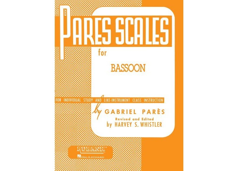 Pares Scales for Bassoon