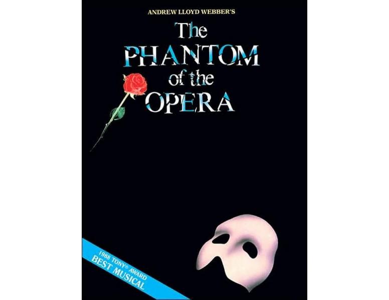 The Phantom of the Opera Piano/Vocal/Guitar - 073999608304