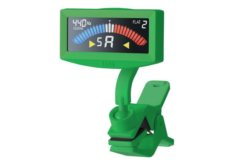 Korg Pitchcrow-G Clip on Tuner, Green