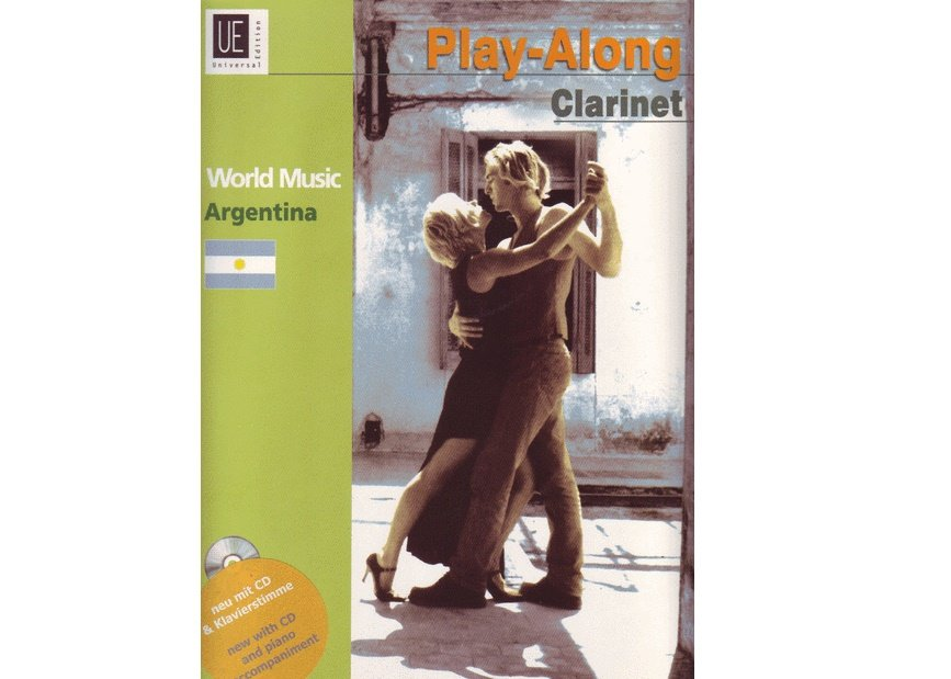 Play-Along Clarinet World Music Argentina