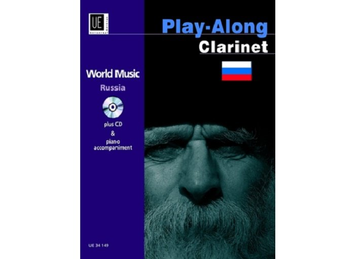 Play-Along Clarinet World Music Russia