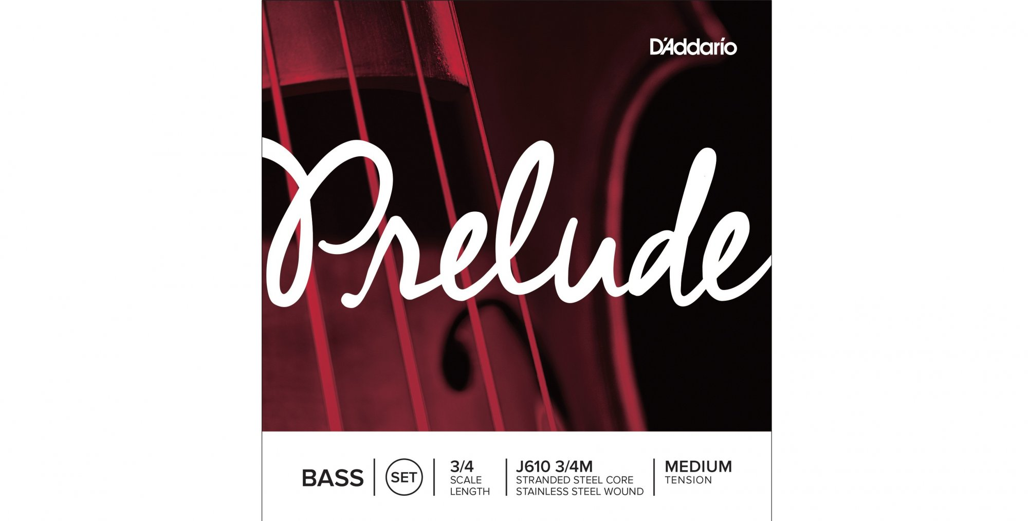 Prelude 3/4 Bass Strings Set