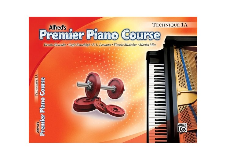 Alfred's Premier Piano Course Level 1A Technique