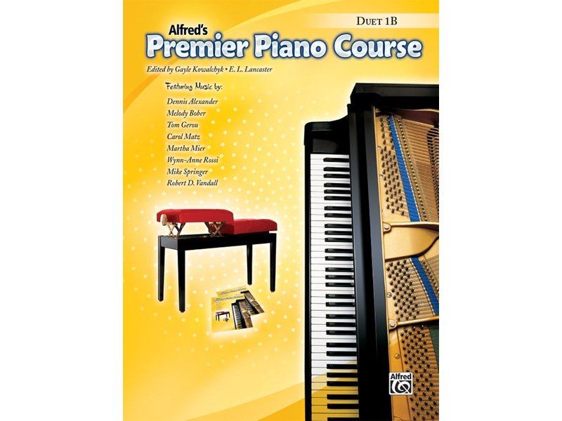Alfred's Premier Piano Course Level 1B Duet