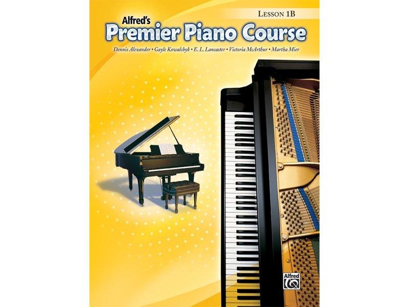 Alfred's Premier Piano Course Level 1B Lesson