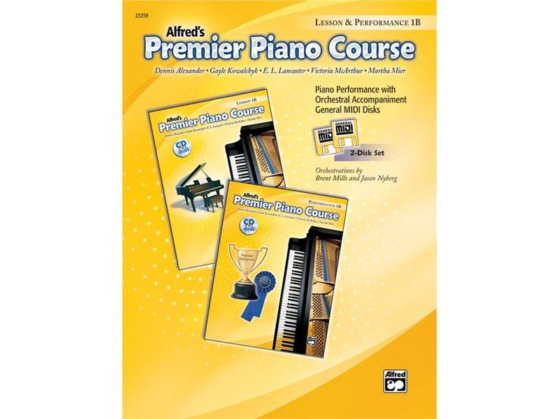 Alfred's Premier Piano Course Level 1B General MIDI Disks