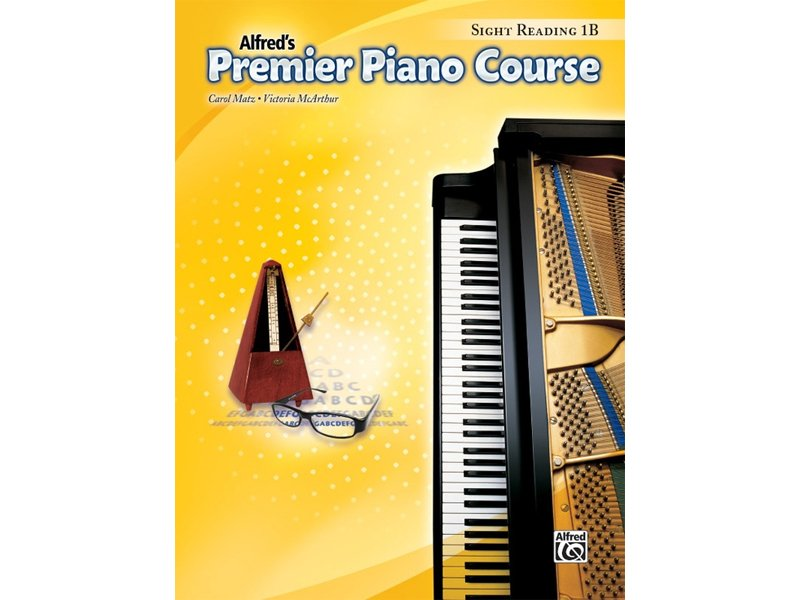 Alfred's Premier Piano Course Level 1B Sight Reading