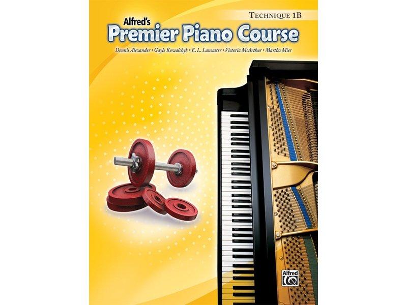 Alfred's Premier Piano Course Level 1B Technique