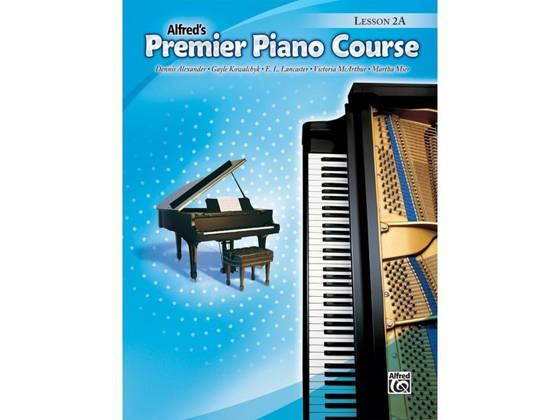 Alfred's Premier Piano Course Level 2A Lesson