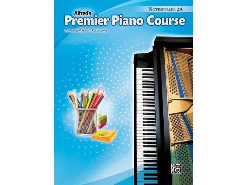 Alfred's Premier Piano Course Level 2A Notespeller