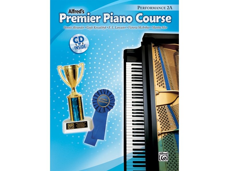 Alfred's Premier Piano Course Level 2A Performance