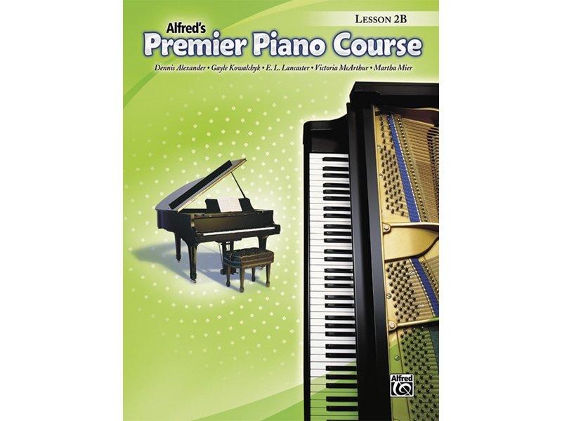 Alfred's Premier Piano Course Level 2B Lesson