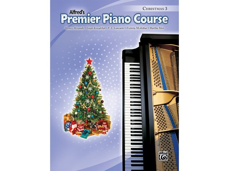 Alfred's Premier Piano Course Level 3 Christmas