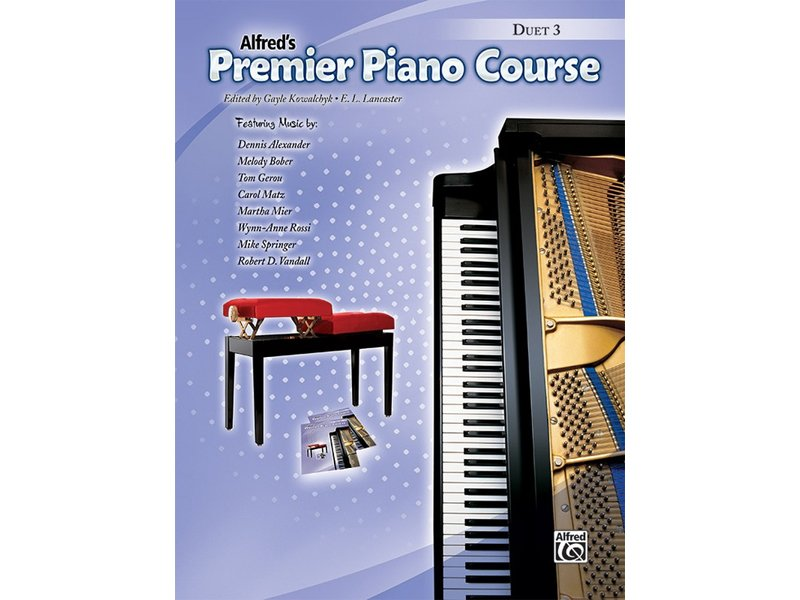 Alfred's Premier Piano Course Level 3 Duet