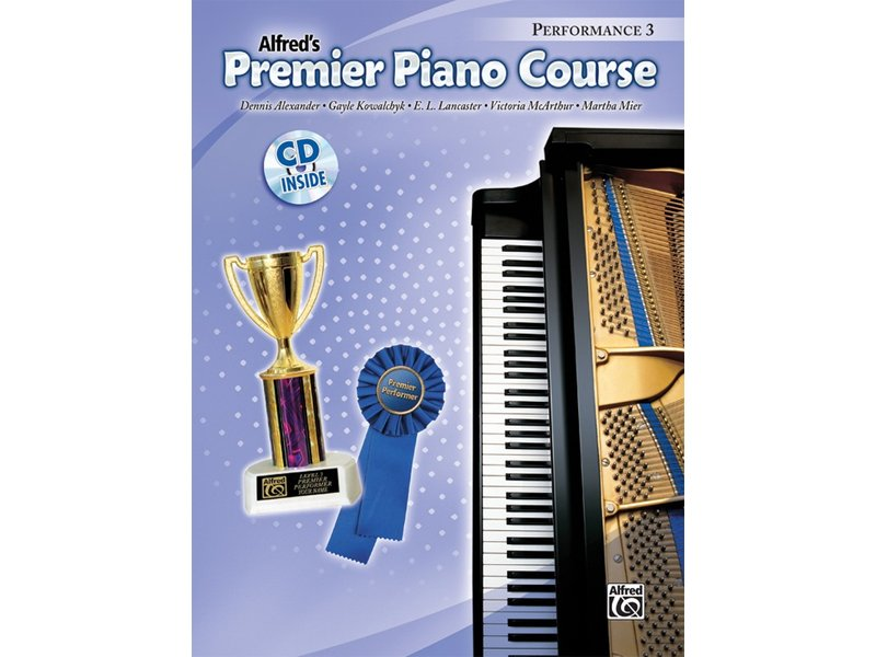 Alfred's Premier Piano Course Level 3 Performance