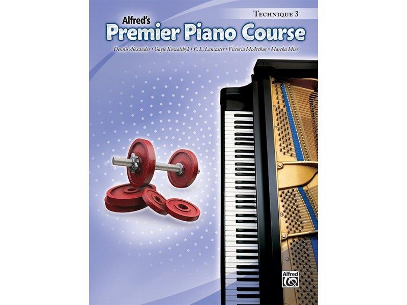 Alfred's Premier Piano Course Level 3 Technique
