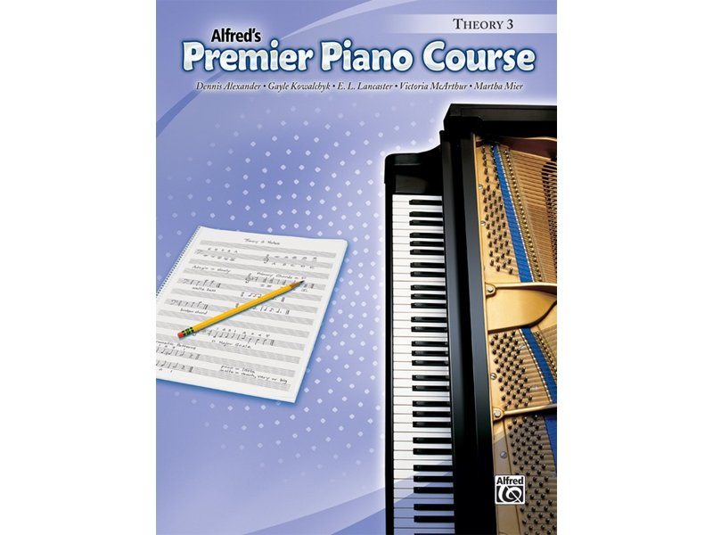 Alfred's Premier Piano Course Level 3 Theory