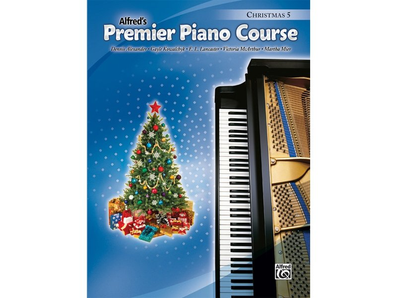 Alfred's Premier Piano Course Level 5 Christmas