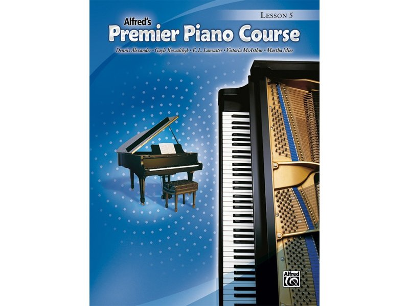 Alfred's Premier Piano Course Level 5 Lesson