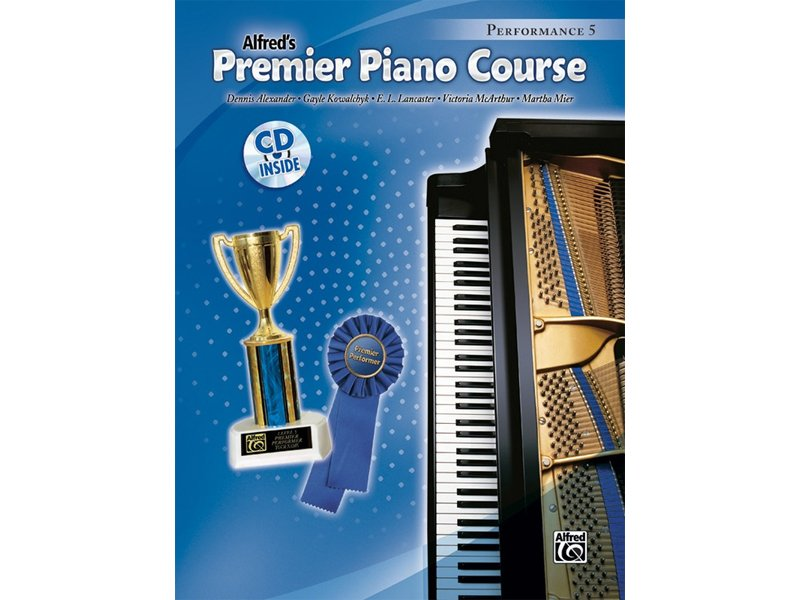 Alfred's Premier Piano Course Level 5 Performance