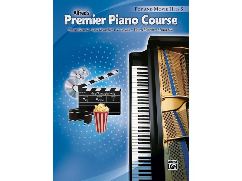 Alfred's Premier Piano Course Level 5 Pop and Movie Hits