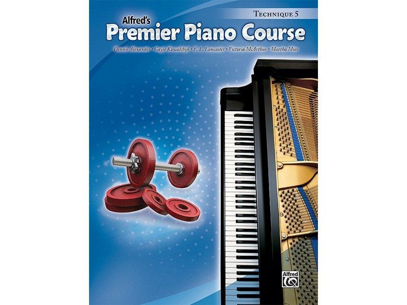 Alfred's Premier Piano Course Level 5 Technique