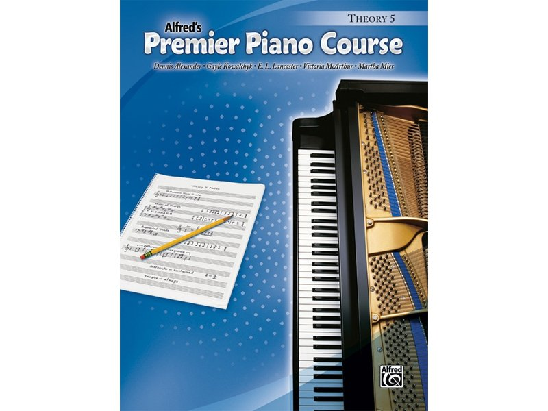 Alfred's Premier Piano Course Level 5 Theory