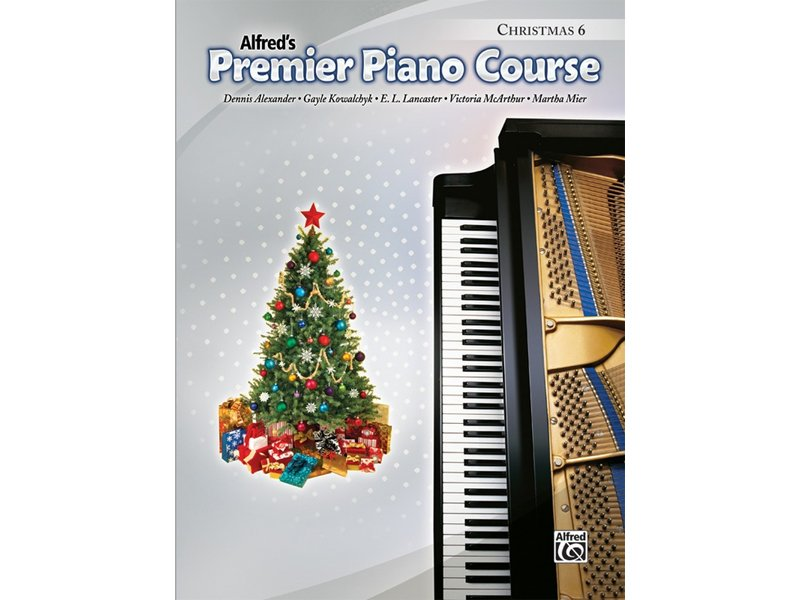 Alfred's Premier Piano Course Level 6 Christmas