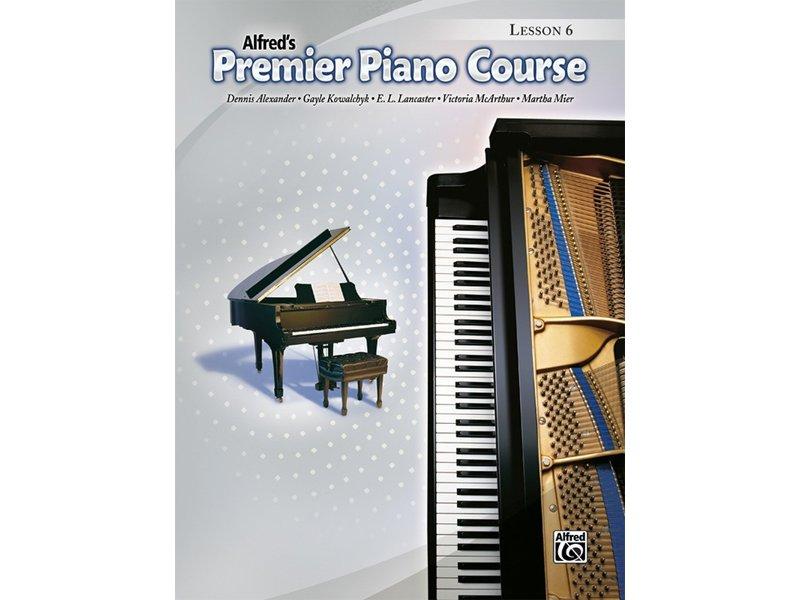 Alfred's Premier Piano Course Level 6 Lesson