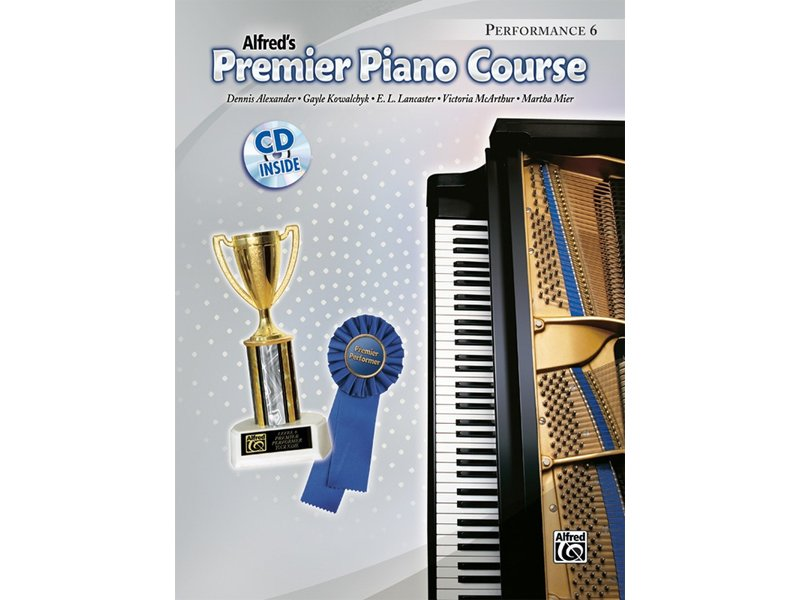 Alfred's Premier Piano Course Level 6 Performance