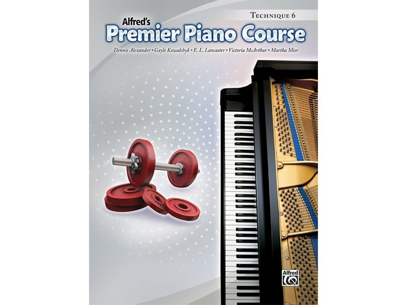 Alfred's Premier Piano Course Level 6 Technique