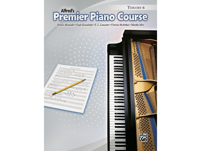 Alfred's Premier Piano Course Level 6 Theory