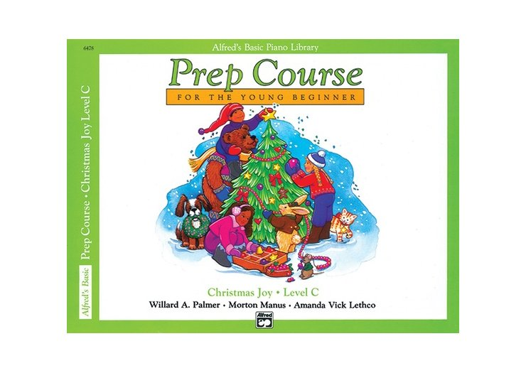 Alfred's Basic Piano Library Prep Course Level C Christmas Joy