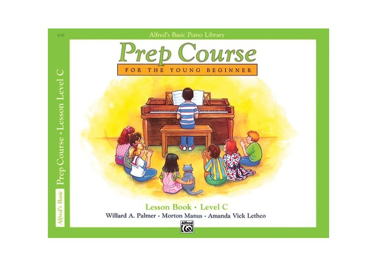 Alfred's Basic Piano Library Prep Course Level C Lesson