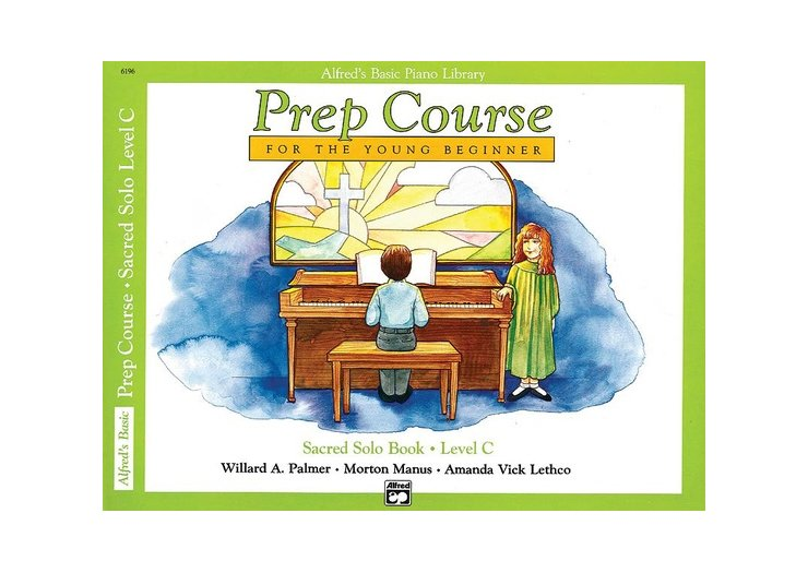 Alfred's Basic Piano Library Prep Course Level C Sacred Solo