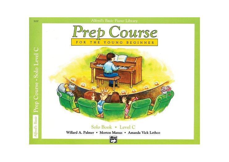 Alfred's Basic Piano Library Prep Course Level C Solo