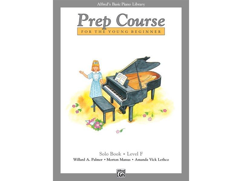 Alfred's Basic Piano Library Prep Course Level F Solo