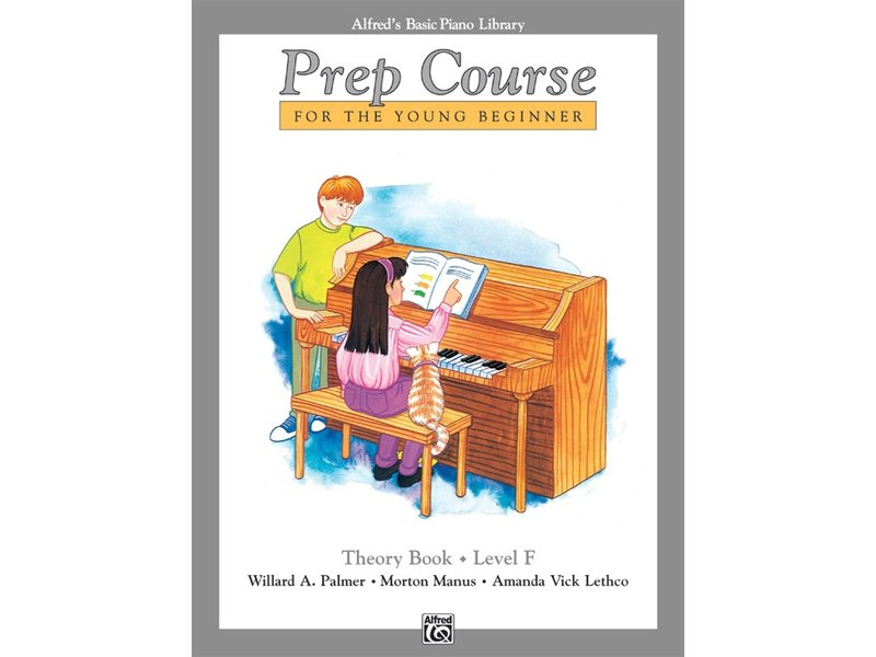 Alfred's Basic Piano Library Prep Course Level F Theory