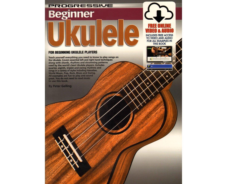 Progressive Beginner Ukulele Book