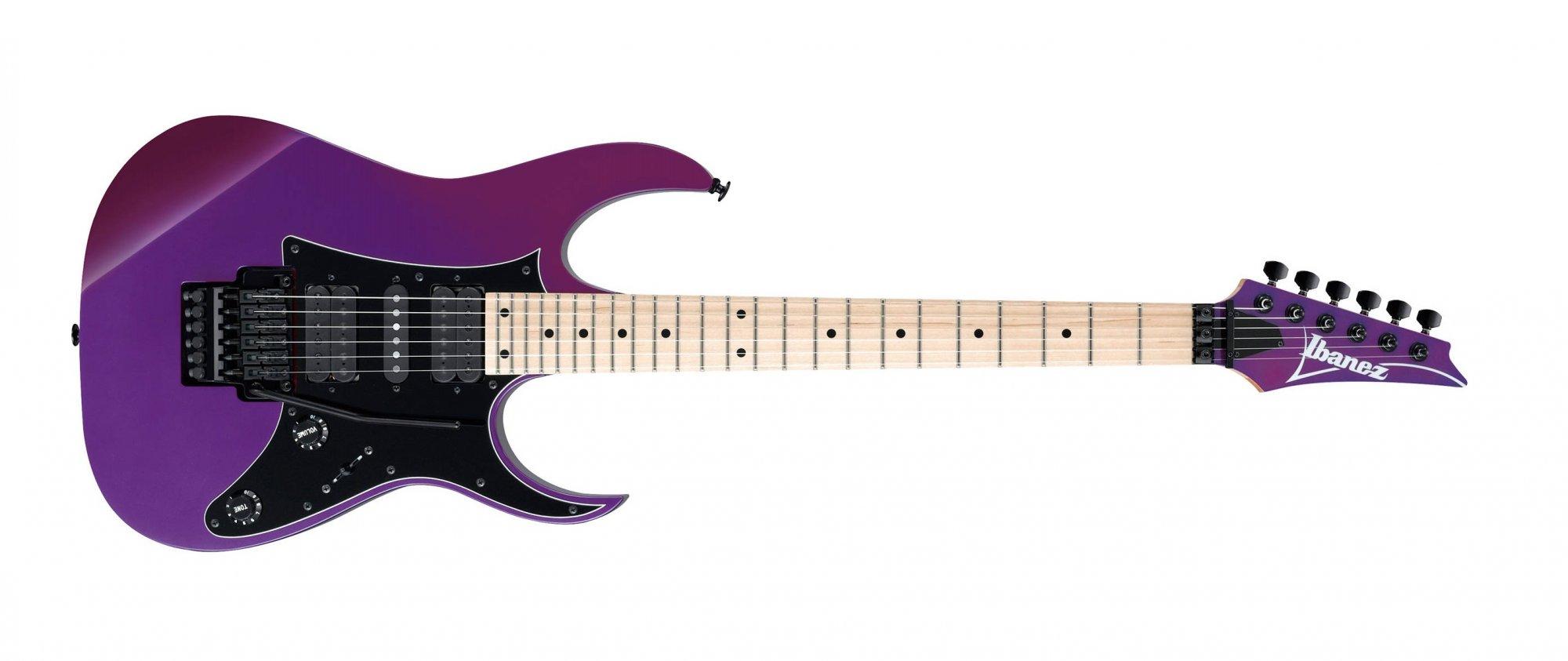 Ibanez RG550 Electric Guitar, Purple Neon