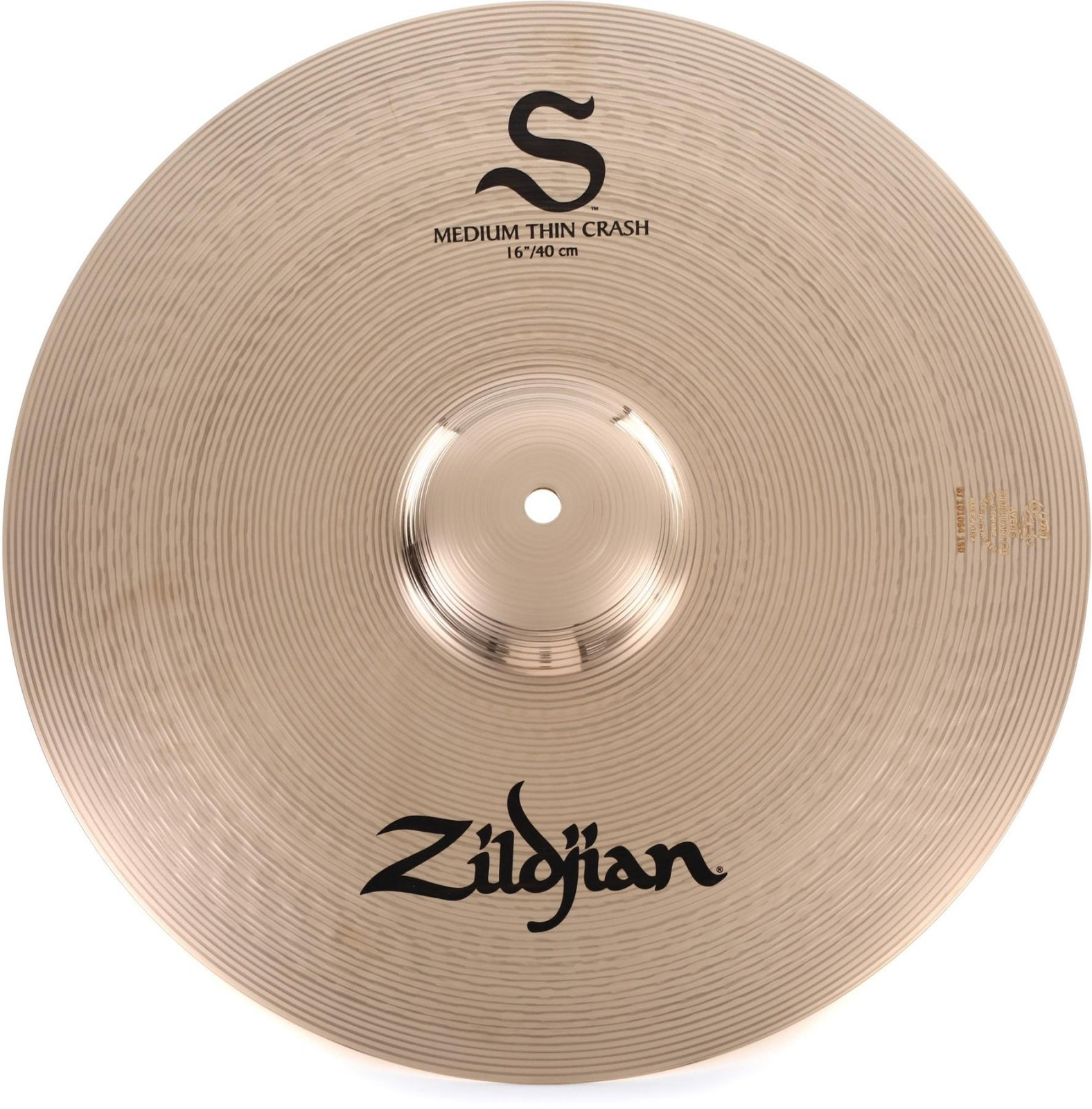 Zildjian S Performer 16 Medium thin Crash