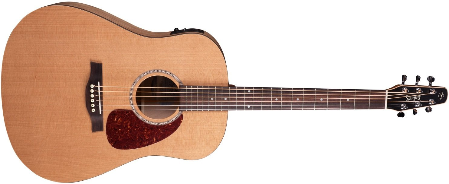 Seagull S6 Classic Acoustic Electric Guitar with B Band M-450T Electronics