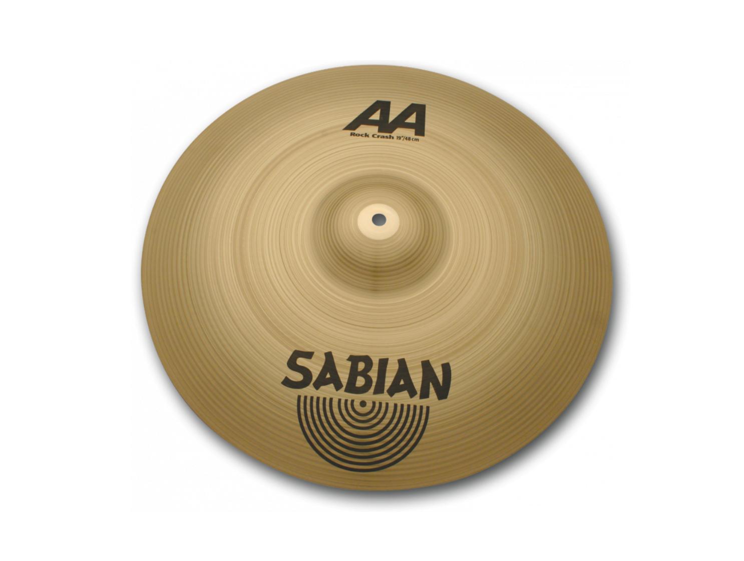 Sabian AA Rock Crash Cymbal 19