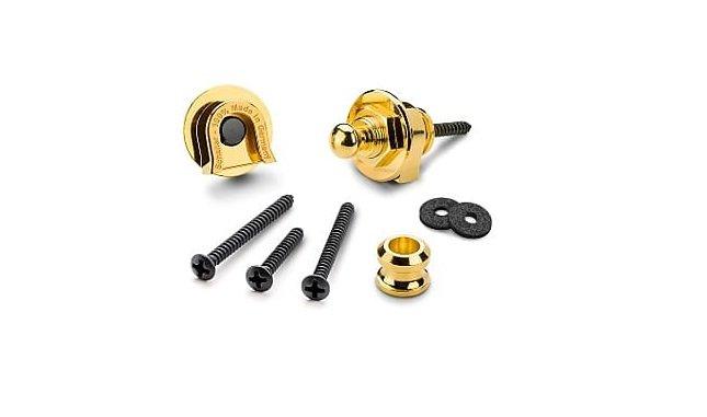 Schaller Strap Locks Original, Gold 447