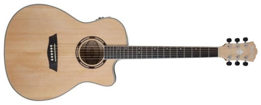 Washburn Apprentice AG40CEK Acoustic Electric Guitar, Natural