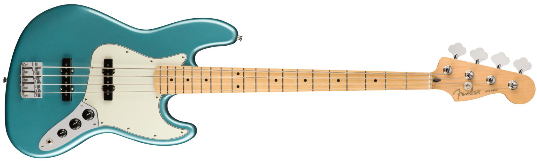 Fender Player Jazz Bass, MN, Tidepool