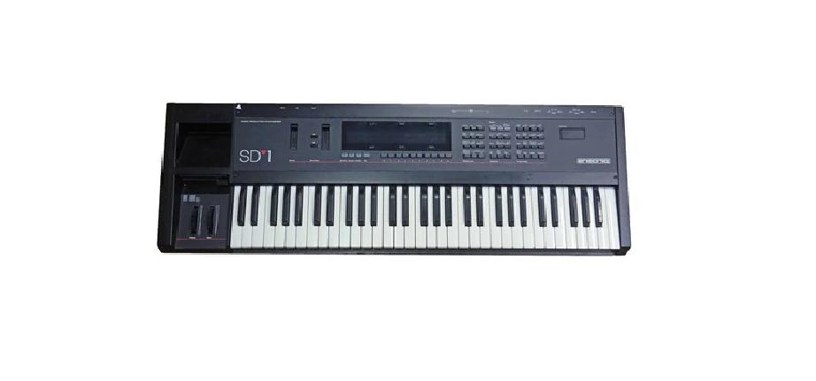 USED Ensoniq SD1 32 Voice Synthesizer