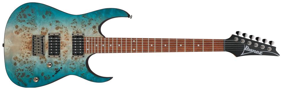 Ibanez Standard RG421PB Electric Guitar, Caribbean Shoreline Flat