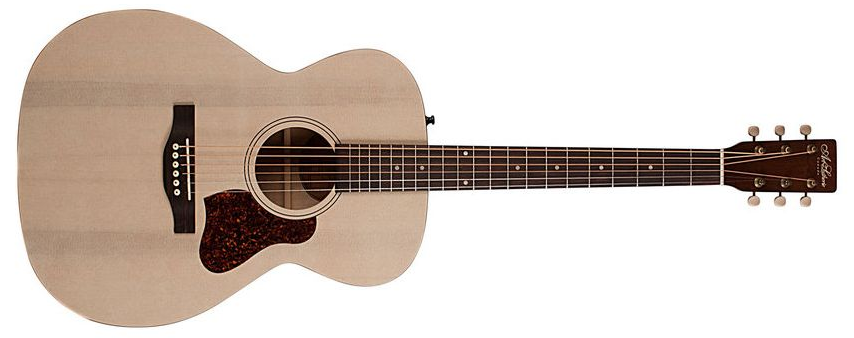 Art & Lutherie Legacy QIT Acoustic Electric Guitar, Faded Cream