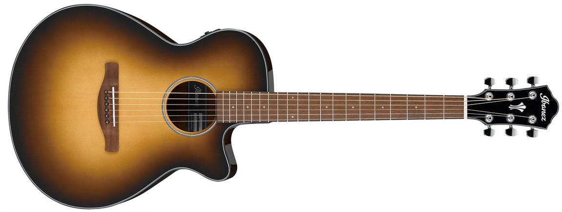 Ibanez AEG50DHH Acoustic Electric Guitar, Dark Honey Burst